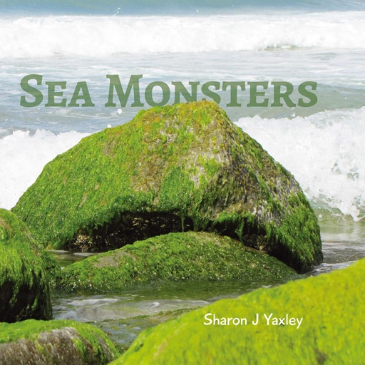 Cover of book labelled 'Sea Monsters'.
